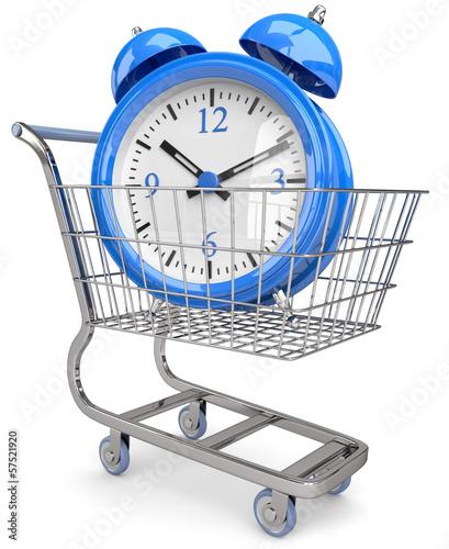 beim shoppen Zeit sparen