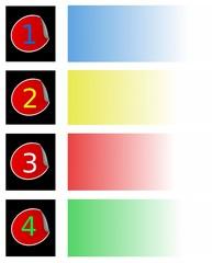 ordine di colori