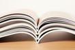Zeitschriften, gestapelt