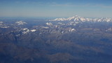 Mount Blanc Range from high altitude
