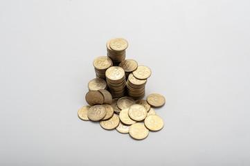 Hill 25 kopek coins