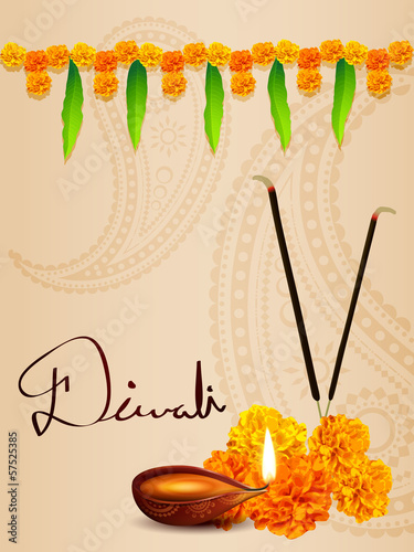 vector diwali background