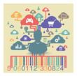 infographie: avatar et consommation sur le web