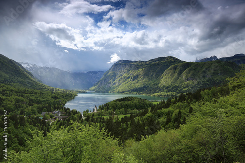 Bohinj Lake in Spring