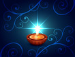 beautiful diwali illustration