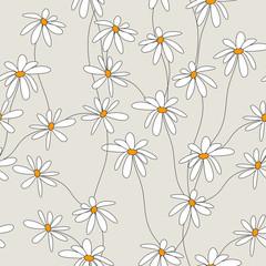 seamless daisies