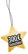 300 € Gutschein