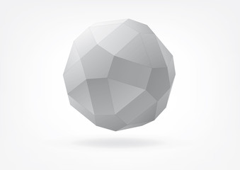small rhombicosidodecahedron for graphic design