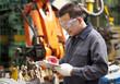 Industrial engineering in factory