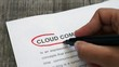 Circling Cloud Computing with a pen