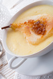 .williams pears with semolina