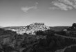 Italy, Sicily, Ragusa Ibla, view of the baroque town at sunset
