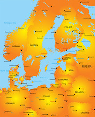 Baltic region countries