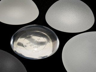 silicone breast implants micro textured and smooth surface