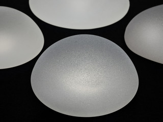 silicone breast implants with micro textured surface