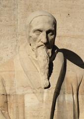 J. Calvin, reformation wall, Geneva, Switzerland.