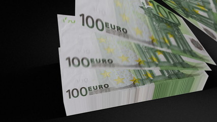 100 Euros bill count 01