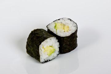 Vegetarian maki rolls