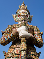 Giant statue of the temple emerald buddha
