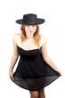 girl hat