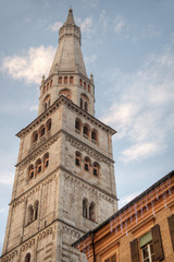 Ghirlandina tower, Modena