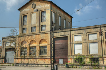 An old disused factory