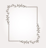 Calligraphic frame and page decoration