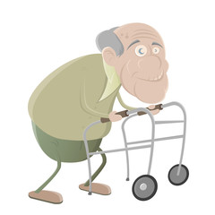senior gehhilfe