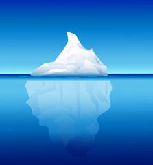 Iceberg-vector illustration