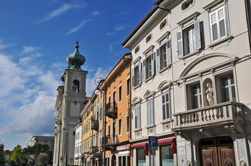 Gorizia, Piazza della Vittoria chiesa di sant'Ignazio