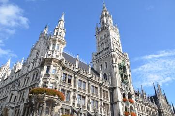Neues Rathaus, nouvelle hôtel de ville, Munich