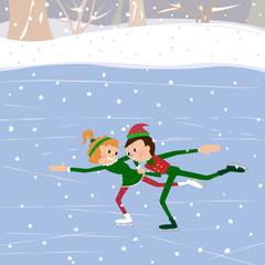 Ice Rink - Illustration