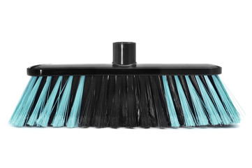 synthetic bristles broom