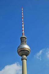 Berlino, la torre della televisione ad Alexanderplatz