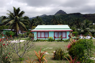 Colonial home in Rarotonga Cook Islands
