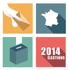 élections en France - 2014