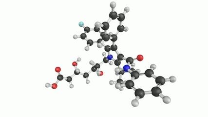 Atorvastatin cholesterol lowering drug