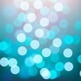 Blue lights blurred background, vector Eps10 illustration.
