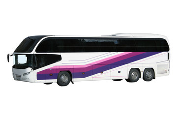The modern excursion bus