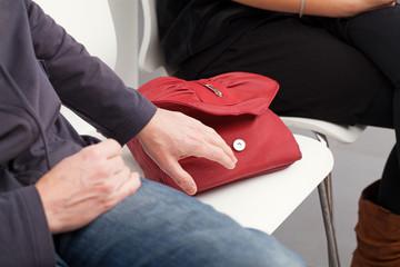 Bag stealing