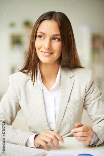 Elegant business lady