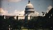 US Capitol Building Washington DC-1940 Vintage 8mm film