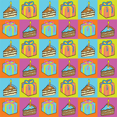 Seamless Party Paper Background!