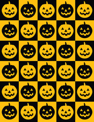 Pumpkin Pattern! Vector eps8!