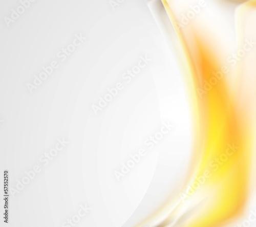 Bright abstract wavy design