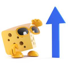 Cheese arrow