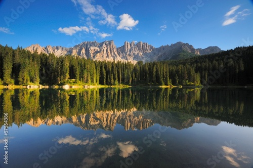 Lago di Carezza Cime Latemar