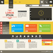 Professional Flat Web Design Template
