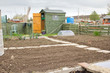 Allotment garden ready for planting new crops