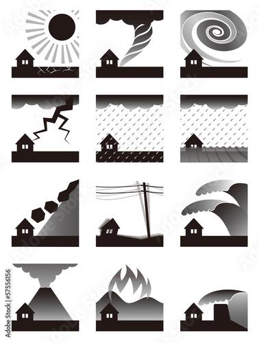 自然災害の種類